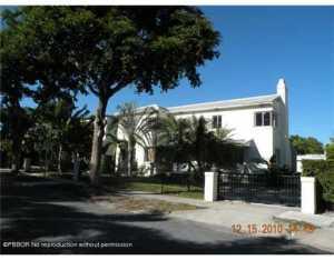 285  Barcelona  Road West Palm Beach FL 33401 House for sale