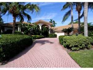 3300 W Monet  Drive Palm Beach Gardens FL 33410 House for sale