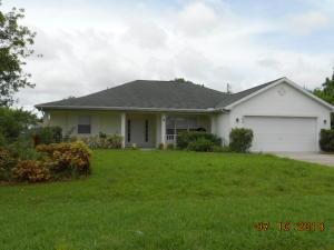 562 SW Prater  Avenue Port Saint Lucie FL 34953 House for sale