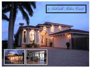 3  Lakeside Palms  Court Lake Worth FL 33460 House for sale