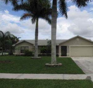 412  Las Palmas  Street Royal Palm Beach FL 33411 House for sale