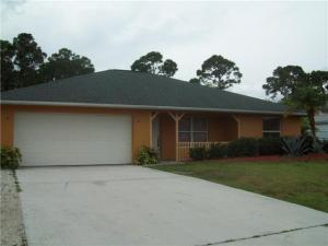 3134 SW Dimattia Street Port Saint Lucie FL 34953 House for sale
