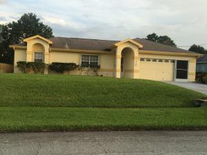 714 SW Arkansas  Terrace Port Saint Lucie FL 34953 House for sale