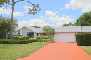 6451 Woodthrush Court Palm Beach Gardens FL 33418 House for sale