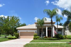 2142 Bellcrest Circle Royal Palm Beach FL 33411 House for sale