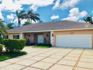 2361 W Silver Palm Road Boca Raton FL 33432 House for sale