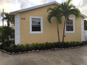959 W 5th Street Riviera Beach FL 33404 House for sale