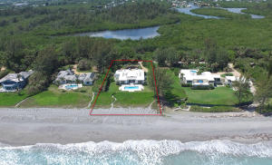 Property for sale at 63 N Beach Road Hobe Sound FL 33455 in BON AIR BEACH 1 & AMENDED 2 & 3